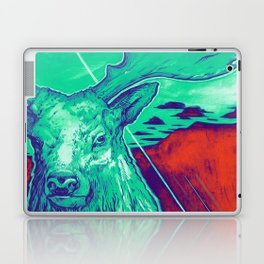 Stag Dimension of Teal Laptop & iPad Skin