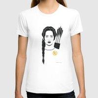 katniss T-shirts featuring Iconic Katniss by Arne AKA Ratscape