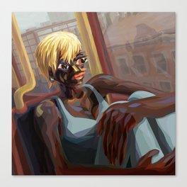 Burnt Sienna Commute Canvas Print