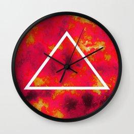 FIRE 1 Wall Clock