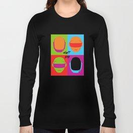 Daft Pop Long Sleeve T-shirt