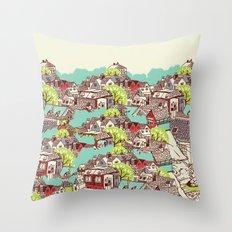 Tur-Town Throw Pillow