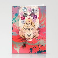 psychedelic Stationery Cards featuring Psychedelic by Pepe Psyche