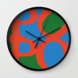 POPO - german 4 BOTTY, sexy bottom Wall Clock