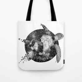 Cosmic Turtle Tote Bag