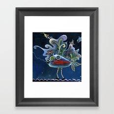 fishes Framed Art Print