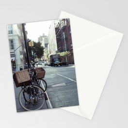 Bikes in Soho Stationery Cards
