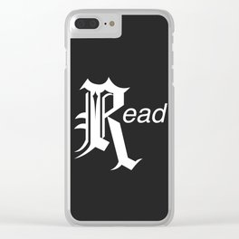 Read Clear iPhone Case
