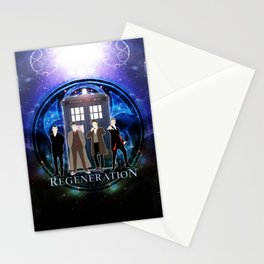 The Doctor Of Regeneration Stationery Cards