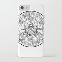 logo iPhone & iPod Cases featuring Logo by Dan PeaseIllustration