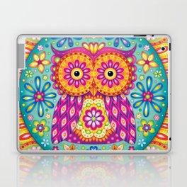 Owl Mandala Laptop & iPad Skin