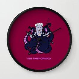 Kim Jong-Ursula Wall Clock