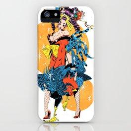 cocktail oiran girl iPhone Case