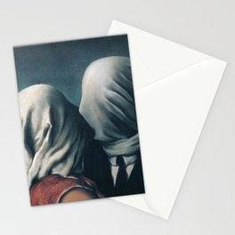 The Lovers by Rene Magritte Stationery Cards
