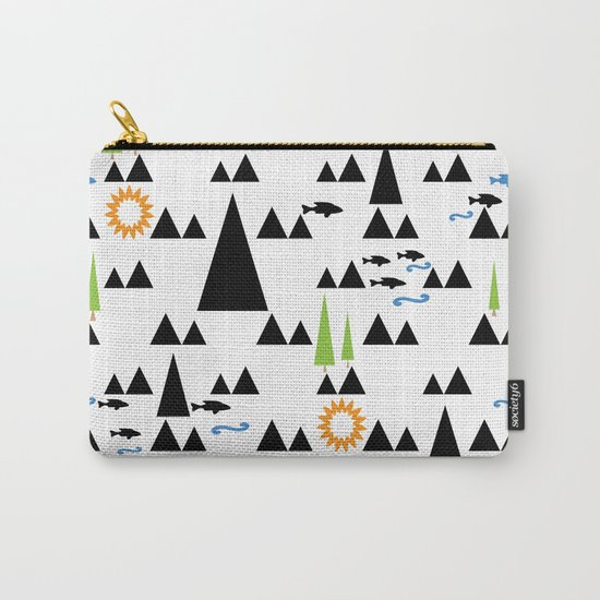 Ethnic simple pattern . Carry-All Pouch