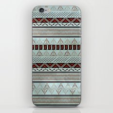 Harry Tribal Print Potter- Horcrux Blue iPhone & iPod Skin