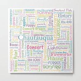 Chautauqua Summer Dream Metal Print