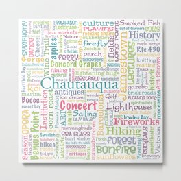 Chautauqua Summer Dream Metal Print