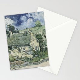 Thatched Cottages at Cordeville Stationery Cards