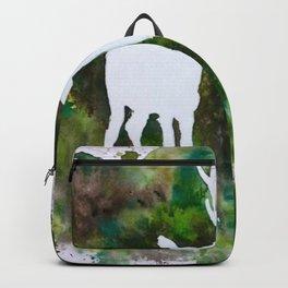 Deer silhouette Backpack