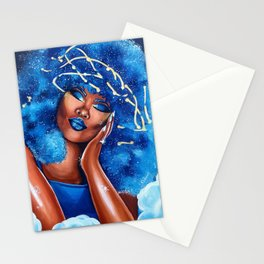 Dreaming in Blue Stationery Cards
