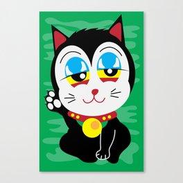 420 Maneki Neko  Canvas Print