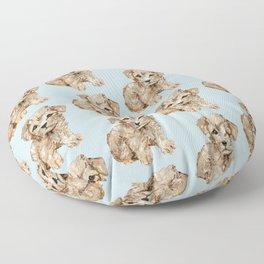 Schnoodle Pups Floor Pillow