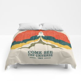 Come See The Universe Comforters