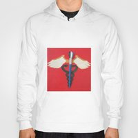 medical Hoodies featuring Medical Corps Snake by ArtSchool
