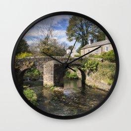 English Village Wall Clock