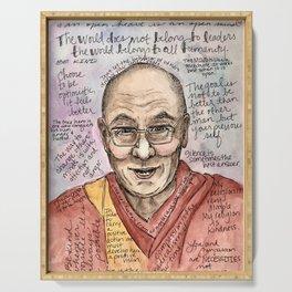 Wonderful Words: Dalai Lama Serving Tray