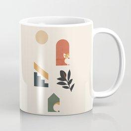 Hide and Seek Corgi Coffee Mug