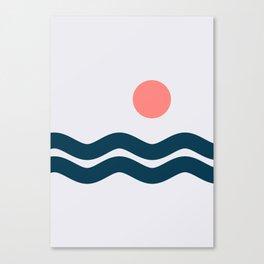 Nautical 06 No.1 Canvas Print