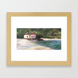 Cinnamon Bay at Sunrise 2 Framed Art Print