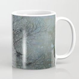 Blackbird Convention on a Snowy Day Coffee Mug