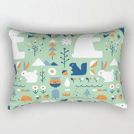 Forest animals Rectangular Pillow