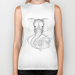 Fractured Changes, Elephant Biker Tank