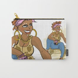 Gorgeous African girl Carry-All Pouch
