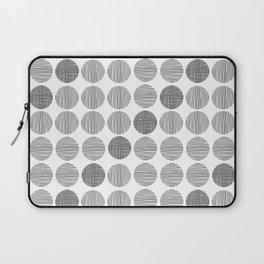 Black dots Laptop Sleeve