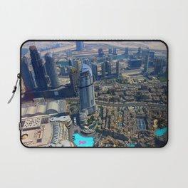 View from the Burj Khalifa Laptop Sleeve