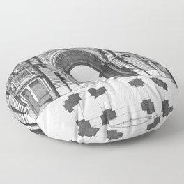 Arc de Triomphe Floor Pillow