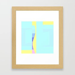 Teal Me About It Framed Art Print