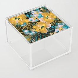 Golden Vintage Aloha Acrylic Box