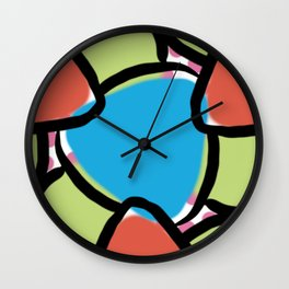 A New Kinda Supergraphics  Wall Clock