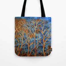 Trees of gold  Tote Bag