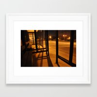 new jersey Framed Art Prints featuring New Jersey by Kelly Chen