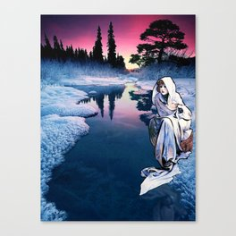 To the Bone Canvas Print