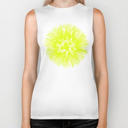Make A Wish Dandelion Vector In Yellow Biker Tank
