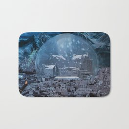 The Curse on Tomorrowscape Bath Mat