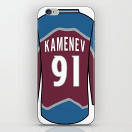 Vladislav Kamenev Jersey iPhone Skin